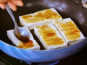 豆腐ステーキきのこたっぷりソース