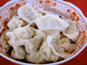白菜の葉の水餃子