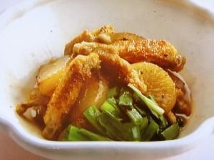 焼き大根の生姜煮