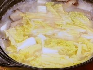 豆腐の白湯(パイタン)鍋