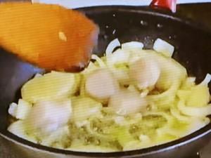 もこみち流 ロブスターとホタテのクリーム煮