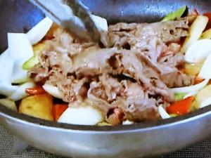もこみち流 牛肉とじゃがいものカレースパイス炒め