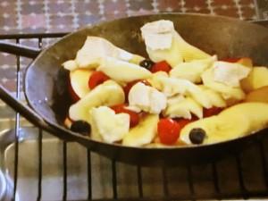 グリルで焼きフルーツ