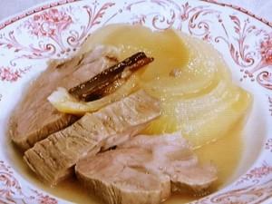 豚肉とたまねぎのスパイスレモン塩煮