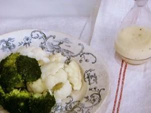 温野菜のサラダ スパイスレモン塩ドレッシング