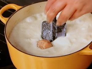チキンボールのジンジャークリームシチュー