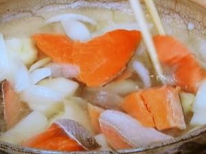 塩鮭の粕鍋
