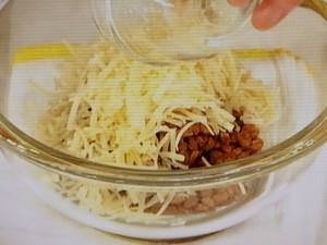 チーズ入り! 納豆春巻