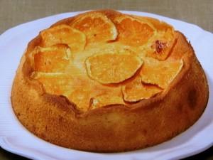 みかんのケーキ