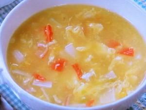 かきたまコーンスープ