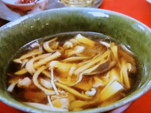 きのこスープ鍋