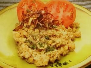 もこみち流 中東風 じゃがいもとひよこ豆のスパイシーマッシュサラダ