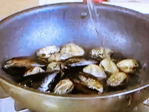 もこみち流 カリカリベーコンと魚介のトマトリゾット