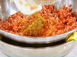 簡単デミグラスの!煮込みハンバーグ