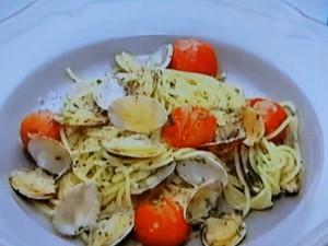 もこみち流 アサリとプチトマトのシンプルパスタ
