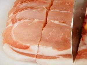 豚のナムプラー漬けソテー