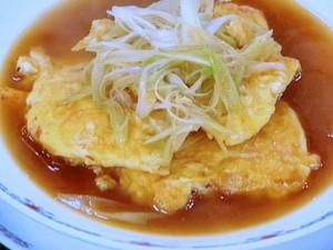 桜えび入り卵焼きのスープ煮
