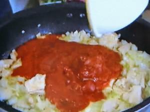 もこみち流 ツナとトマトのリガトーニ