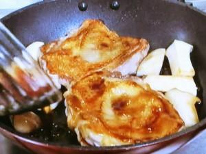 鶏の照り焼き 黒酢風味