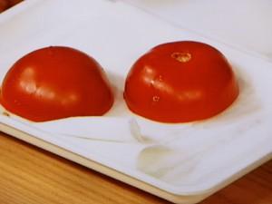 ピーマンとトマトのツナマヨ炒め