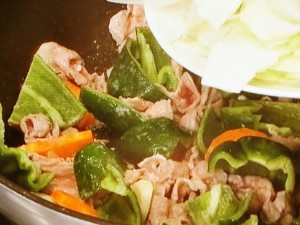 豚肉とキャベツのしょうゆマヨ炒め