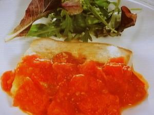 かじきとトマトのソテー