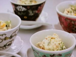 黒酢しょうゆ卵のふわふわ豆腐