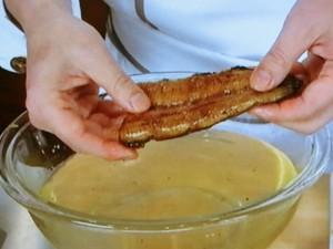 鰻とごぼうの柳川鍋