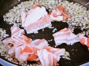 ケチャぽんでなす豚バラ炒め