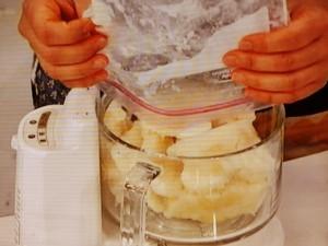 パイナップルのヨーグルトシャーベット