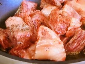 もこみち流 牛バラ肉となすのココナツ煮込み