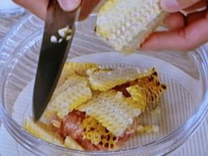 トウモロコシつくねの卵あんかけ