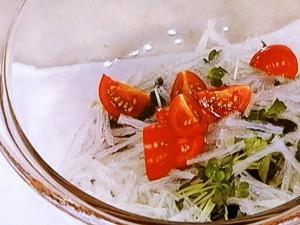 焼きえびの和風サラダ
