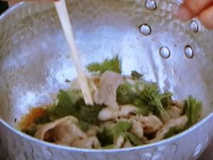 紫蘇と豚バラの煮つけ