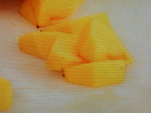 柿の白あえサラダ