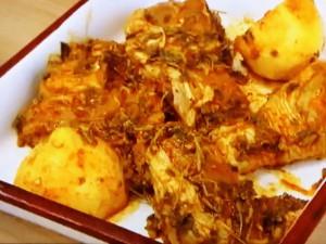 もこみち流 チキンのハーブカレースパイス焼き