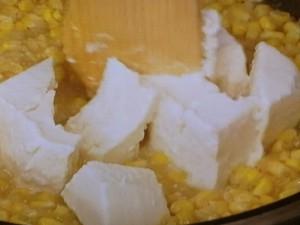 豆腐のとろとろ塩炒め