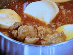 さつまいもと鶏肉のカレー煮