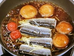 サンマの梅しぐれ煮