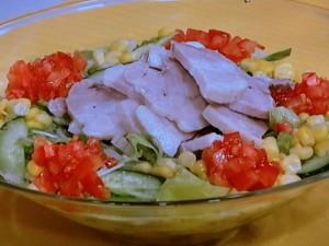 ゆで豚サラダ
