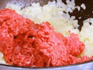 カリフラワーとひき肉のサブジ
