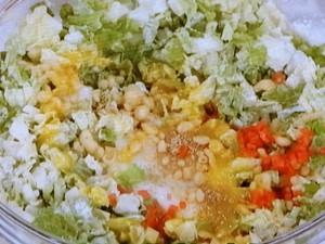 白菜の甘みたっぷりお好み焼き