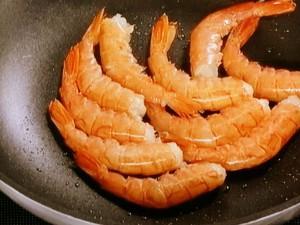 カレー風味の海老シチュー