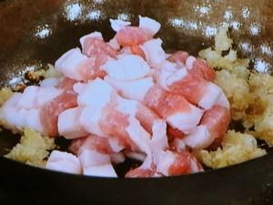 焼きれんこんの豚肉サンド