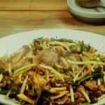 牛肉と野菜のコチュジャン炒め