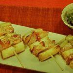 ぶりの串焼き