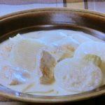 鶏肉とかぶのクリーム煮