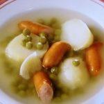 グリーンピースとじゃがいものスープ