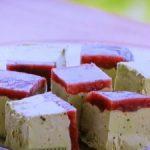 小豆と抹茶のセミフレッド