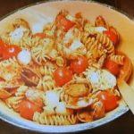 もこみち流 トマトとアサリのフジッリ